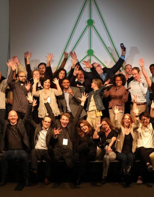 Innovators, Industry pioneers and LAUNCH team at the Circular Innovation Summit at Nike headquarters in Portland on March 3, 2017.